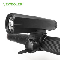 NEWBOLER USB Rechargeable Bicycle Light Built In Battery Waterproof LED Front Bike Light Accessories