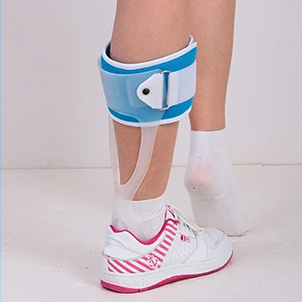 Ankle Support Foot Drop Brace Orthosis Splint Corrector Stabiliser Fracture Support for Left  Foot