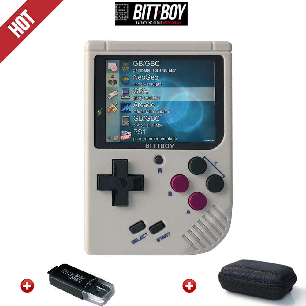 Retro Video Game, BittBoy V3.5+8GB/32GB, Game Console, Handheld Game Players, Console Retro, Load More Games From SD Card(China)