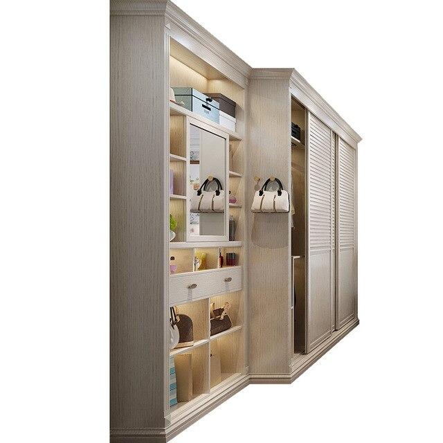 € 1259.38 |Pas cher prix chambre stockage personnalisé porte coulissante  armoire placard dans Ensembles chambre à coucher de Meubles sur ...