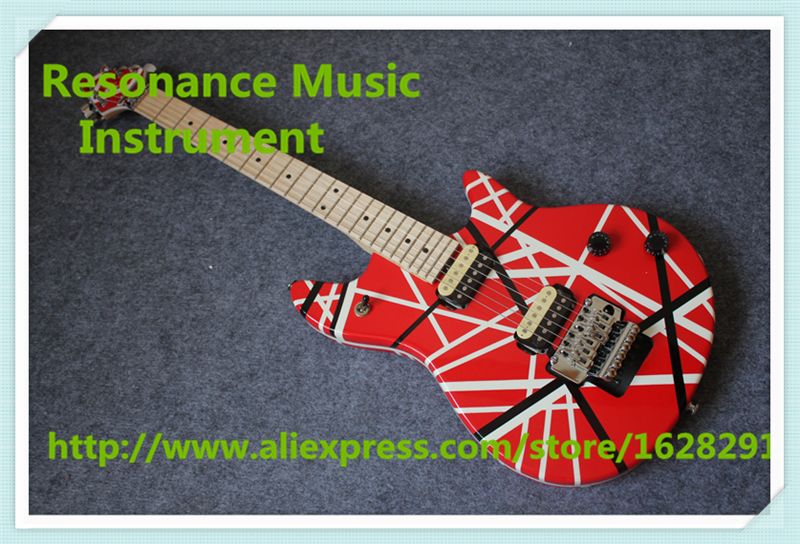 Hot Selling Chinese Maple Fingerboard Wolfgang EVH Guitar Electric As Picture Left Handed Available as picture show