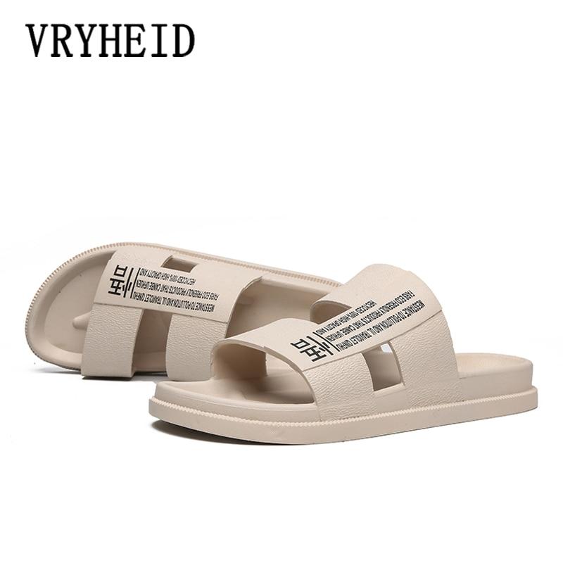New Summer Unisex Bathroom Slippers Brand Men Couple Beach Sandals Fashion Outdoor Indoor Home Non-slip Floor Flip flop