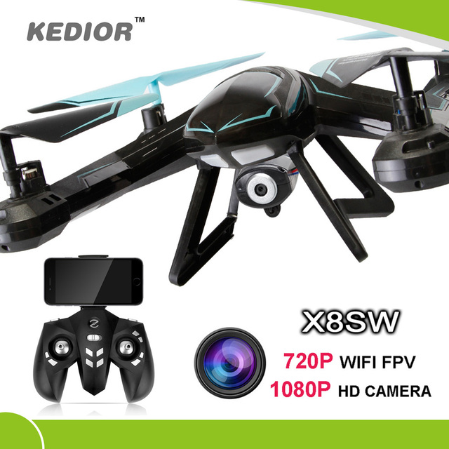2016 New X8SW Wifi Drone RC quadcopter with 720p Wifi FPV HD camera Or 1080P HD Camera Headless Quad copter helicopter