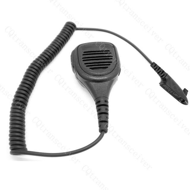 Police Radio Mic >> Police Radio Waterproof Handheld Speaker Mic For Motorola Portable