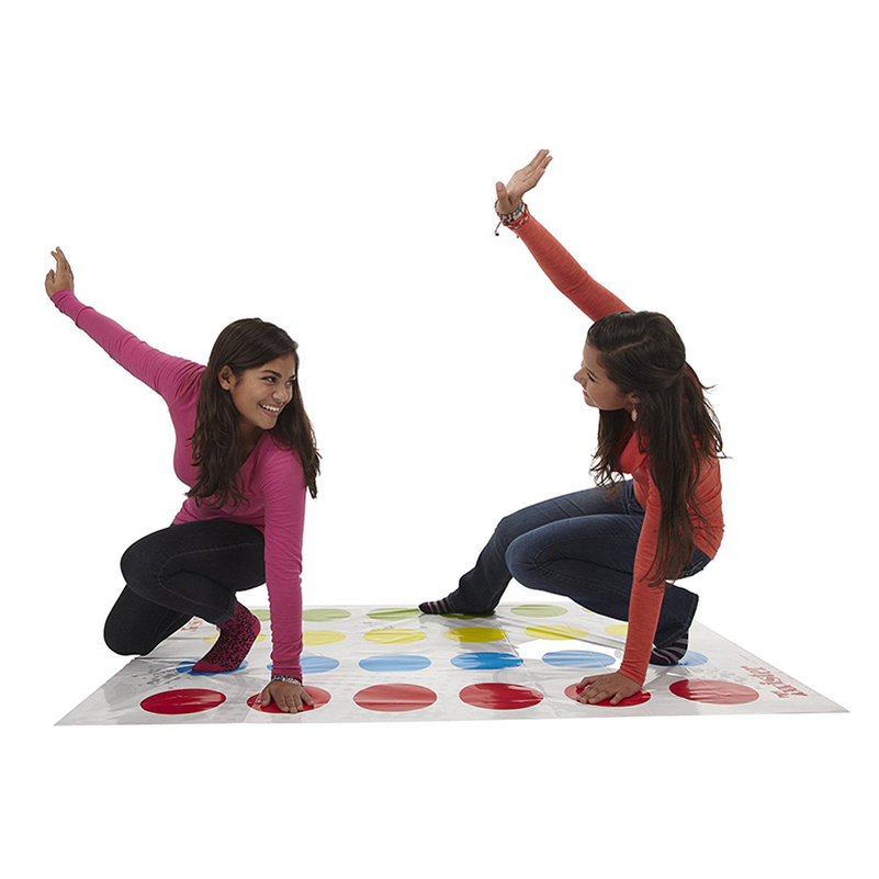 Classic Spot Body Twister Moves Interactive Game Craft Group Party Picnic Fun Outdoor Sports Toys Funny Board Games