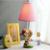 Lindo regalo de Bodas Cumpleaños de Los Niños Lámpara de Mesa E14 110 V-220 V Interruptor de Botón del Sitio de Niños de Cumpleaños Par Plegable Lámpara de mesa