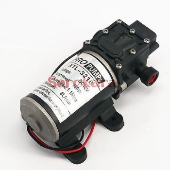 T-HD 1/2 BSP Male DC 12V 100W Self-priming Booster Diaphragm Water Pump Backflow Control 300L/H For Car washing image