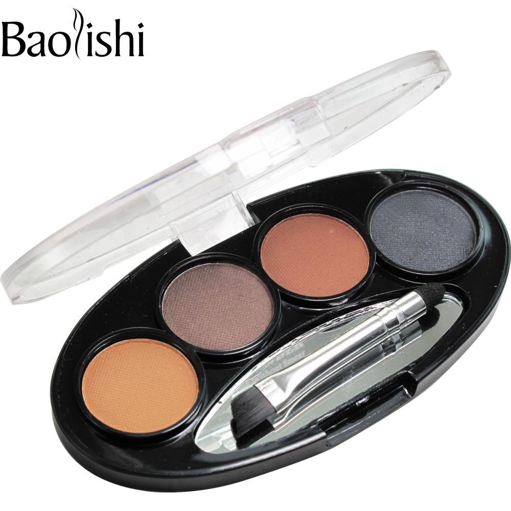 baolishi Natural Long-lasting Waterproof Shadow Eyebrow power Kit Eye - Makeup - Photo 3