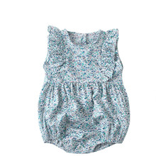Baby Girls Kids Pajamas Flower 일본 꽃 무늬 기모노 Romper Cotton Clothes For Baby Girls 소년 Bebes Children Romper Clothes(China)