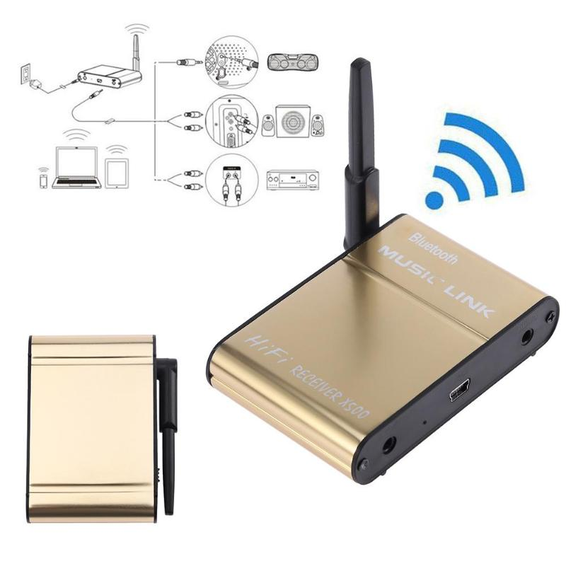 X500 Bluetooth 4.0 Hi-fi Speaker Music Receiver Wireless Music Link Bluetooth Audio Adapter for Mobile Phone/Tablet/PC/Computer
