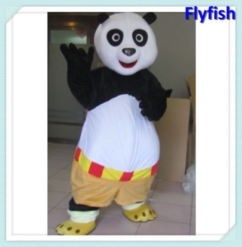 2016 offre spéciale Kung Fu Panda bande dessinée tenue carnaval mascotte Costume fantaisie robe école mascotte collège Costume