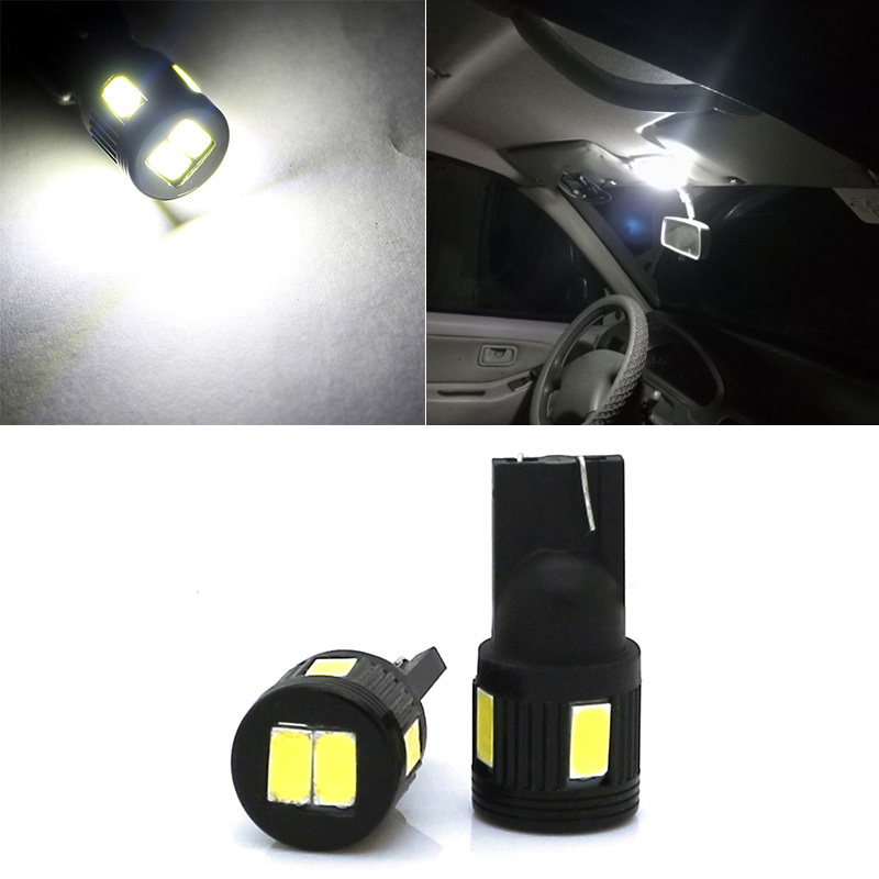 2x Car Styling LED T10 194 W5W Interior Light for Lexus RX300 IS250 GS300 IS IS200 RX330 RX350 LX570 LX470 ES350 LS460 IS300 GS eazyzking stainless steel no drill car styling fuel brake pedal for toyota reiz crown lexus gs is ls lhd auto accessories