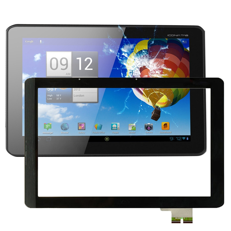 LCD <font><b>Screen</b></font> and Digitizer Full Assembly Replacement for <font><b>Acer</b></font> Iconia Tab <font><b>A510</b></font> / A511 / A700 / A701 / 69.10I20.T02 / V1 image