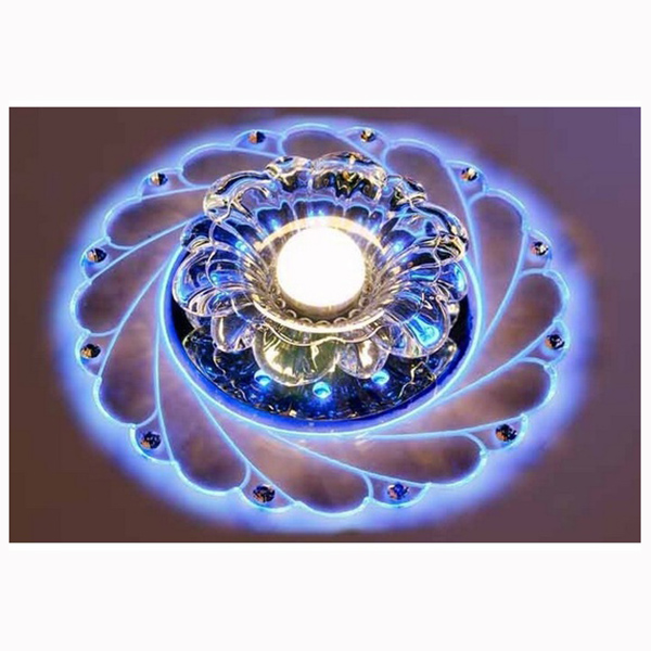 Modern Crystal LED Light Saving Bright Ceiling Light Lamp Fixture Chandelier Surface Mounted Ceiling Light