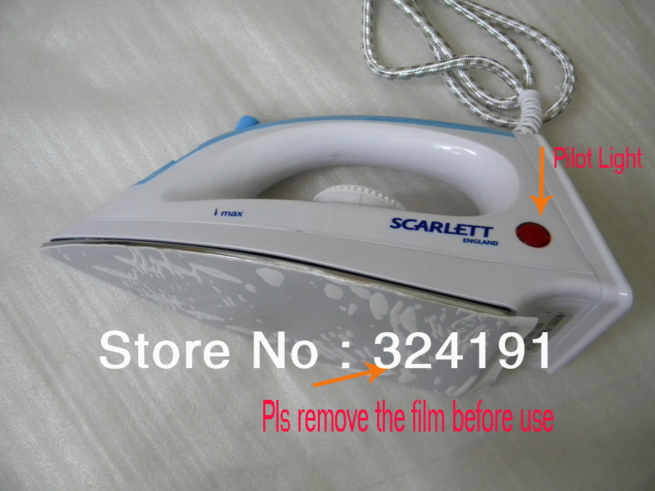 220v AC EU plug Stainless steel electric steam iron  irons wet and dry household Cord clothes Laundary iron