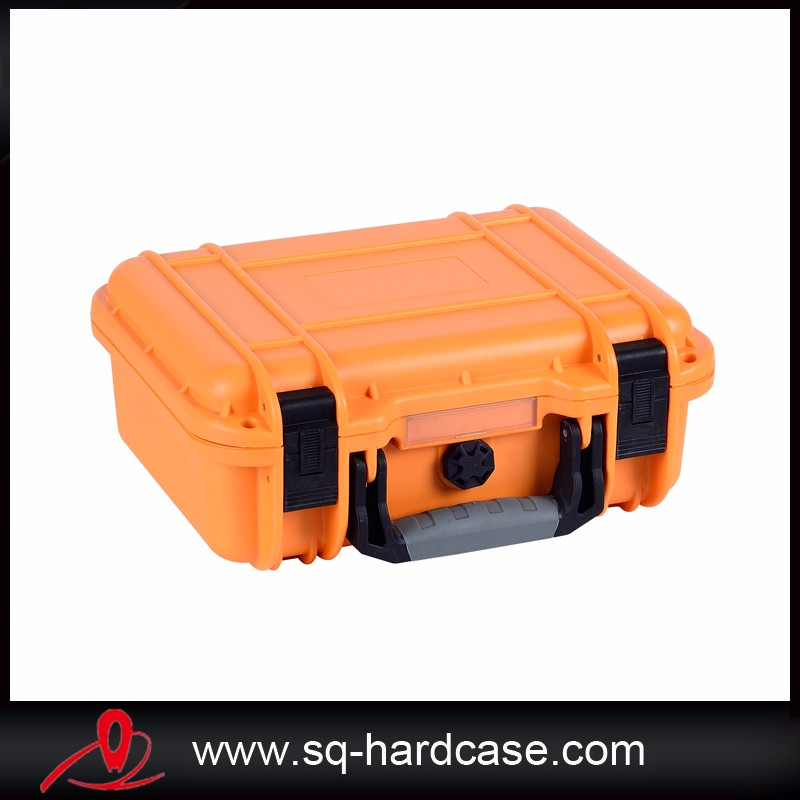 temperature resistant plastic tool case with foam inside