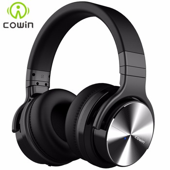 Cowin E7Pro Active Noise Cancelling Bluetooth Headphones Wireless Over Ear Stereo Headset with microphone for phone surveillance camera