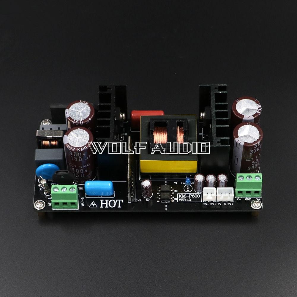 ФОТО 600W LLC Resonant Soft Switching Power Supply Board + -40 / + -50 V / + -55 V / + -60 V Regulated Output Power Of Amplifier