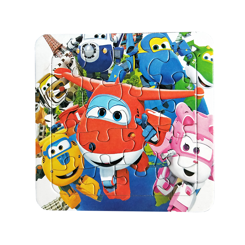 Puzzles Famous Cartoon Super Wings Educational Toy