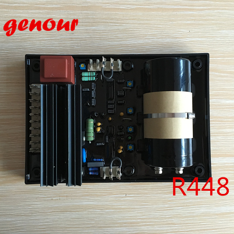 цены R448 automatic voltage regulator generador Leroy Somer AVR R448 high quality brushless alternator spare part