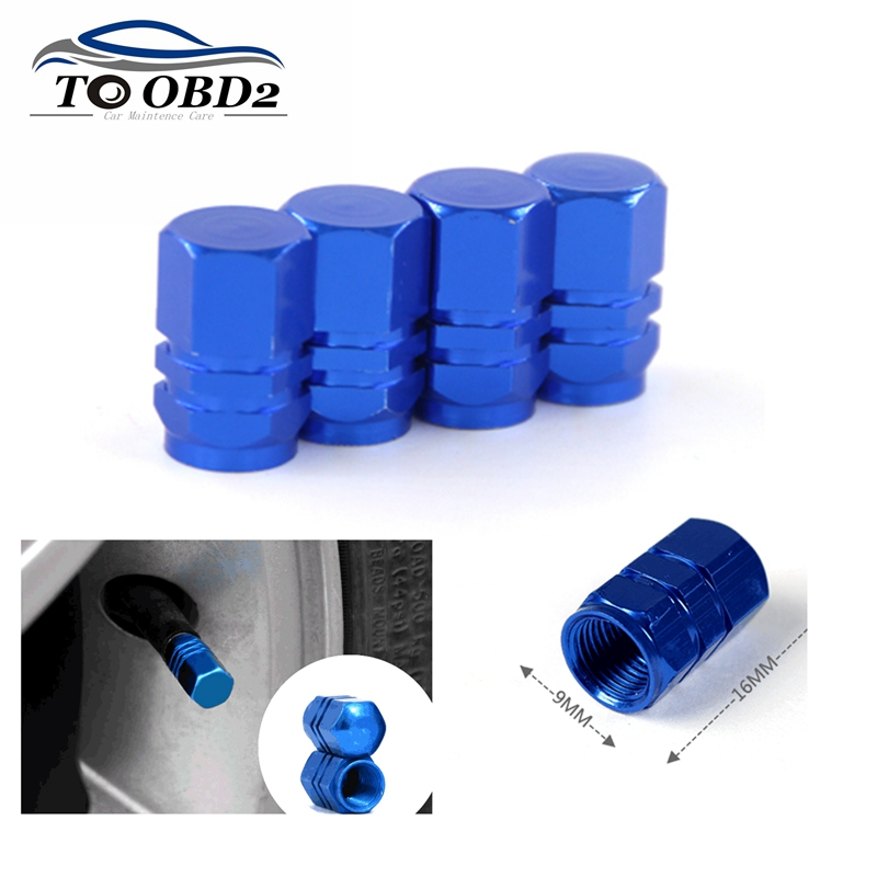 Best Price Universal Auto Bicycle Car Tire Valve Caps For AUDI OPEL RENAULT Tyre Stem Air Caps Airtight Cover Accessoire
