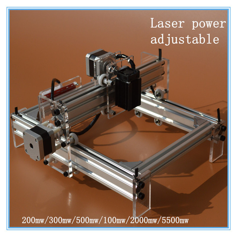 300MW laser power DIY laser engraving machine,Mini laser engraver ,best gift for festival,advanced toys,support  7 language  цена и фото