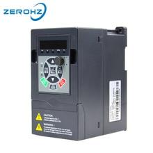 Преобразователь частоты для двигателя 380 В 0.75KW/1.5KW/2.2KW 3 фазы Вход и три Выход 50 Гц/ 60 Гц AC VFD преобразователь частоты