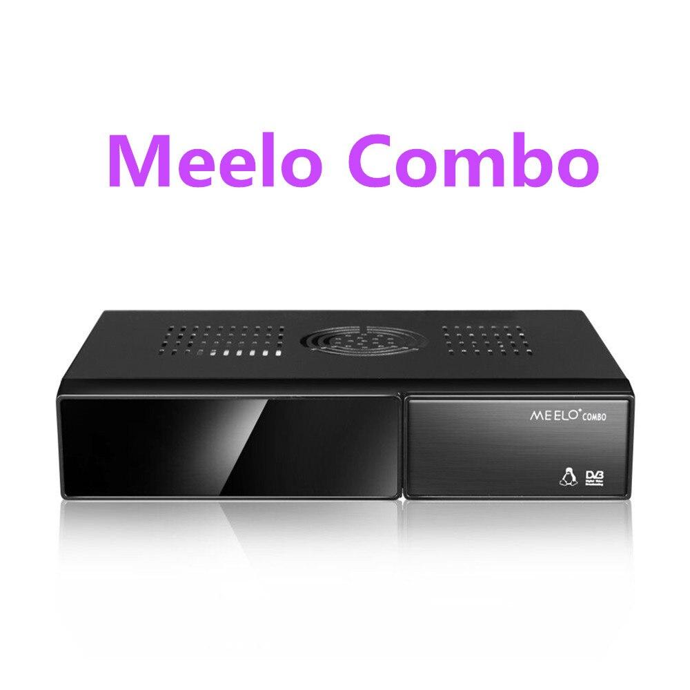 Better MEELO COMBO DVB-S2/C/T2 linux IPTV Satellite Receiver 1200MHz Dual DMIPS Processor 1G RAM 4GB ROM X SOLO MINI 3