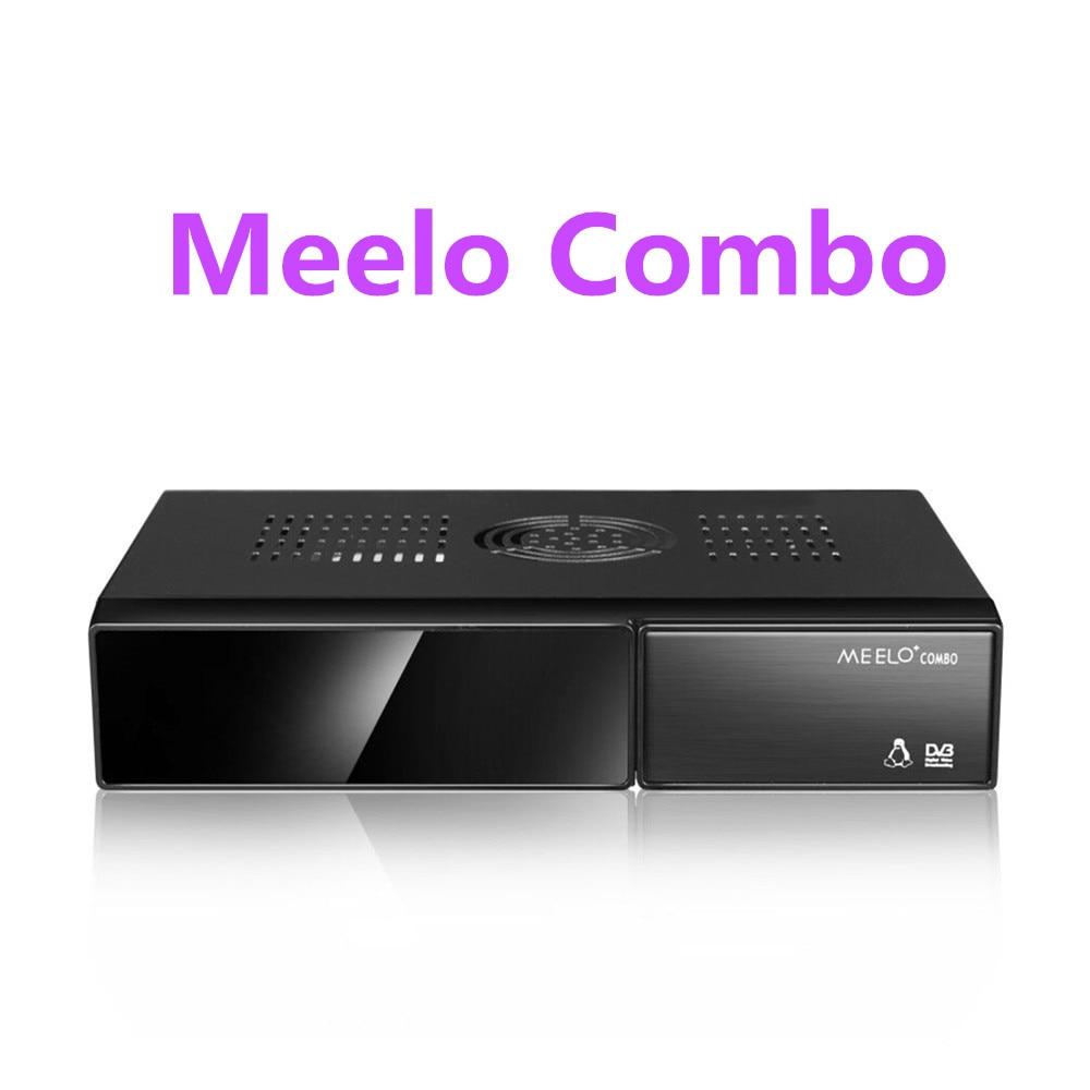 Better MEELO COMBO DVB-S2/C/T2 linux IPTV Satellite Receiver 1200MHz Dual DMIPS Processor Enigma2 1G RAM 4GB ROM X SOLO MINI 3 vu solo pro v4 dvb s2 hd satellite receiver linux system enigma2 stable support youtube iptv bcm7362 751mhz mips media player