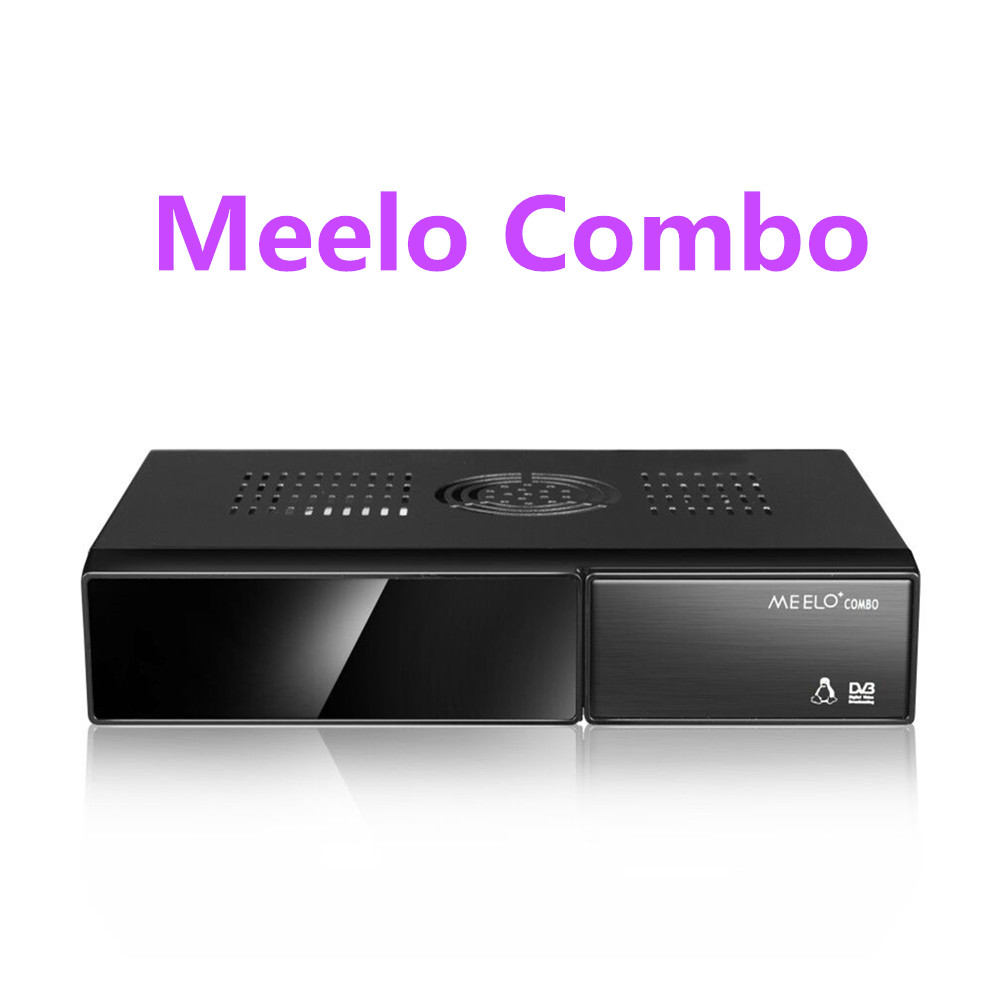 Better MEELO COMBO DVB-S2/C/T2 linux IPTV Satellite Receiver 1200MHz Dual DMIPS Processor Enigma2 1G RAM 4GB ROM X SOLO MINI 3