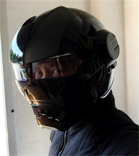 Личность мотоциклетный шлем Подлинных мужчин и женщин 610 человек ретро железа высокого класса off-road мотоцикл