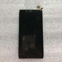 Лучшие рабочие черный ЖК-дисплей Дисплей Сенсорный экран планшета Ассамблеи для Alcatel One Touch Idol Альфа 6032 OT6032 6032X телефон Запчасти