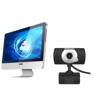 Image 4 - HXSJ  480P Webcam  1 LED PC Camera with Absorption Microphone MIC for Skype for Android TV Rotatable USB Web Cam Computer Camera