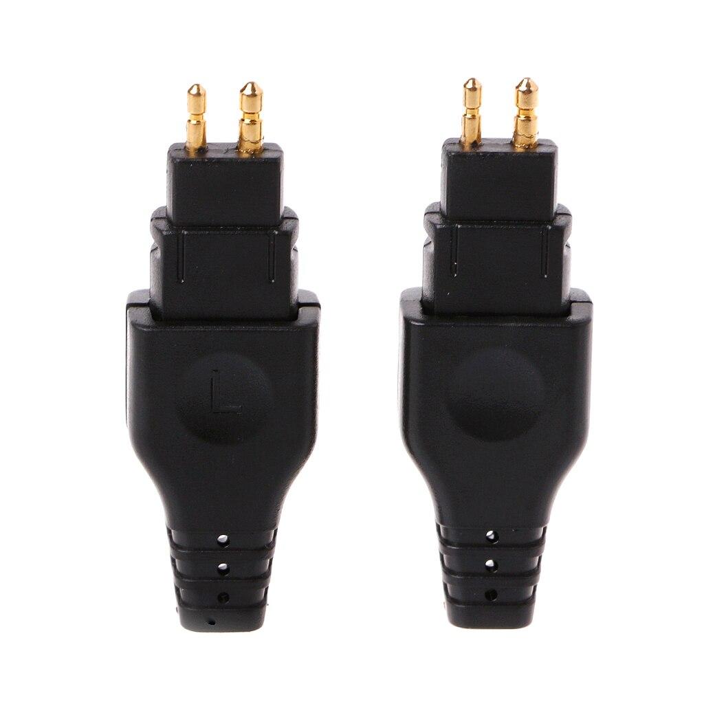Copper Plated Headphone Plug For Sennheiser HD565 HD650 HD600 HD580 HD25 Connector Adapter