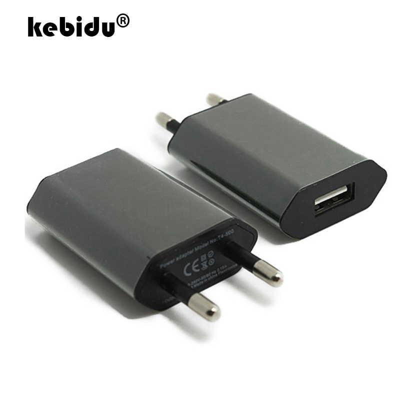 Carga USB 5V 1A para Iphone 7 8 EUA Plug UE Adaptador de Alimentação de Parede Carregador Traverl carregamento Do Telefone Móvel para Samsung s8 s9 Huawei