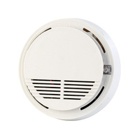 SM 100 3pics Set Hot Sale Free Shipping 433 MHZ Wireless Photo Electricity Smoke Detector For