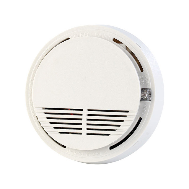 SM-100 Hot Sale Free Shipping 433 MHZ Wireless Photo-electricity Smoke Detector For Fire Alarm Sensor  Smoke Detector