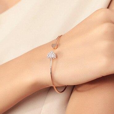Double Hearted Bracelet
