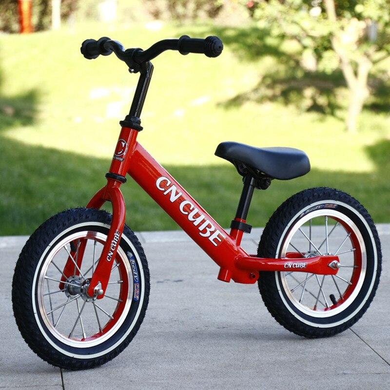 Deux roues en plein air 12 pouces bébé Balance vélo pas de pédale bébé équitation jouets pour enfants bébé bambin bébé marcheur