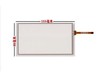 6,2 Zoll 4 Draht Resistiven Touchscreen ZCR-0962 Für Lcd HSD062IDW1-A00, A01, A02 Auto DVD Navigation Bildschirm 155*88 155mm * 88mm