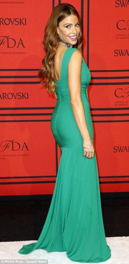 Sofia vergara sexy prom dresses
