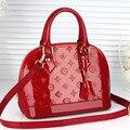 Женщины сумочку общество с ограниченной ил карманный свадебный сумка сумки новый 2016 женщин сумки оболочки japanned кожа небольшой крест-тела бесплатная доставка