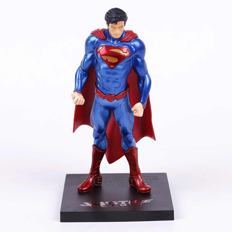 Dc super hero superman artfx + estátua 1/10 escala pré-pintada figura collectible toy modelo