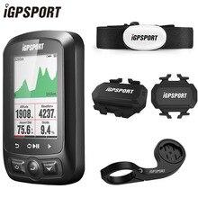 IGPSPORT Ordenador inalámbrico para bicicleta ANT + IGS618, dispositivo con velocímetro, sensor de cadencia y velocidad cardíaca, accesorios