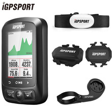 цена на iGPSPORT Cycling Wireless Computer ANT+ Bicycle Speedometer IGS618 Bike Heart Rate Speed Cadence Sensor Computer Accessories