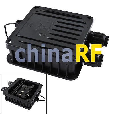 JUNCTION BOX SOLAR CELLS PANELS 120W PV Modules 3 rails 2 Diodes New Hot solution processed organic solar cells