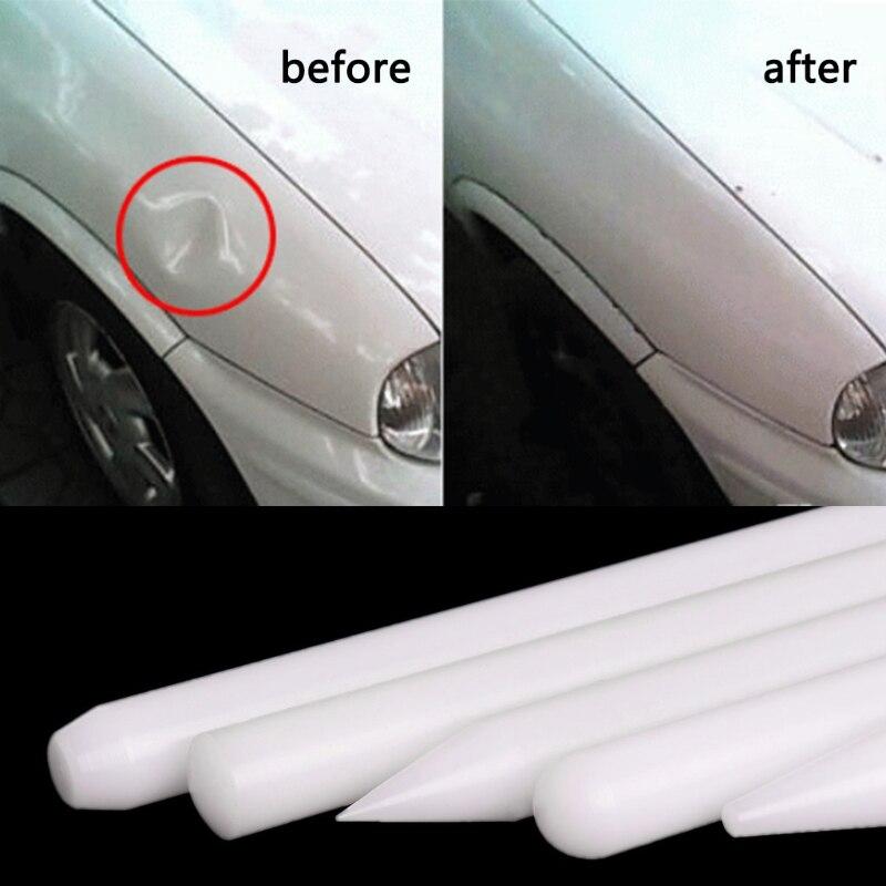 2019 New 5Pcs White Nylon Pen Knock Down Auto Car Paintless Dent Repair Hand Tool Kit Set