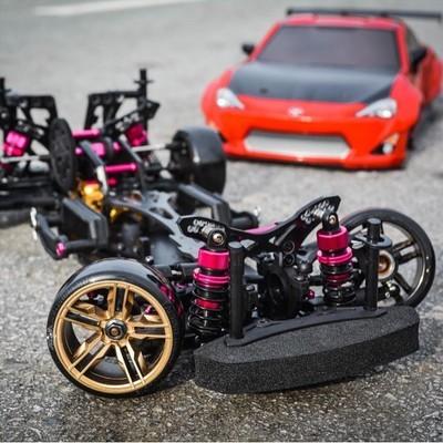 Envío libre rwd/4wd 3 unidad 4wd drift racing marco cs d4 profesional rc cars