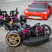 FREE SHIPPING RWD/4WD 3RACING drive 4WD drift frame CS D4 professional RC CARS
