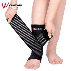 CAMEWIN 1 шт. Регулируемый напорный фиксатор лодыжки для спорта, баскетбола, фиксатор лодыжки